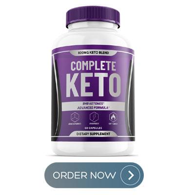 Complete Keto Pills buy now bottle